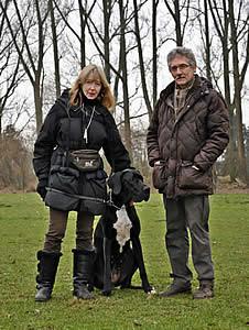 Familie Grothenrath mit Halka
