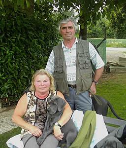 Hans-Josef und Toni Mütz        Zuchter vom Hambacher Forst