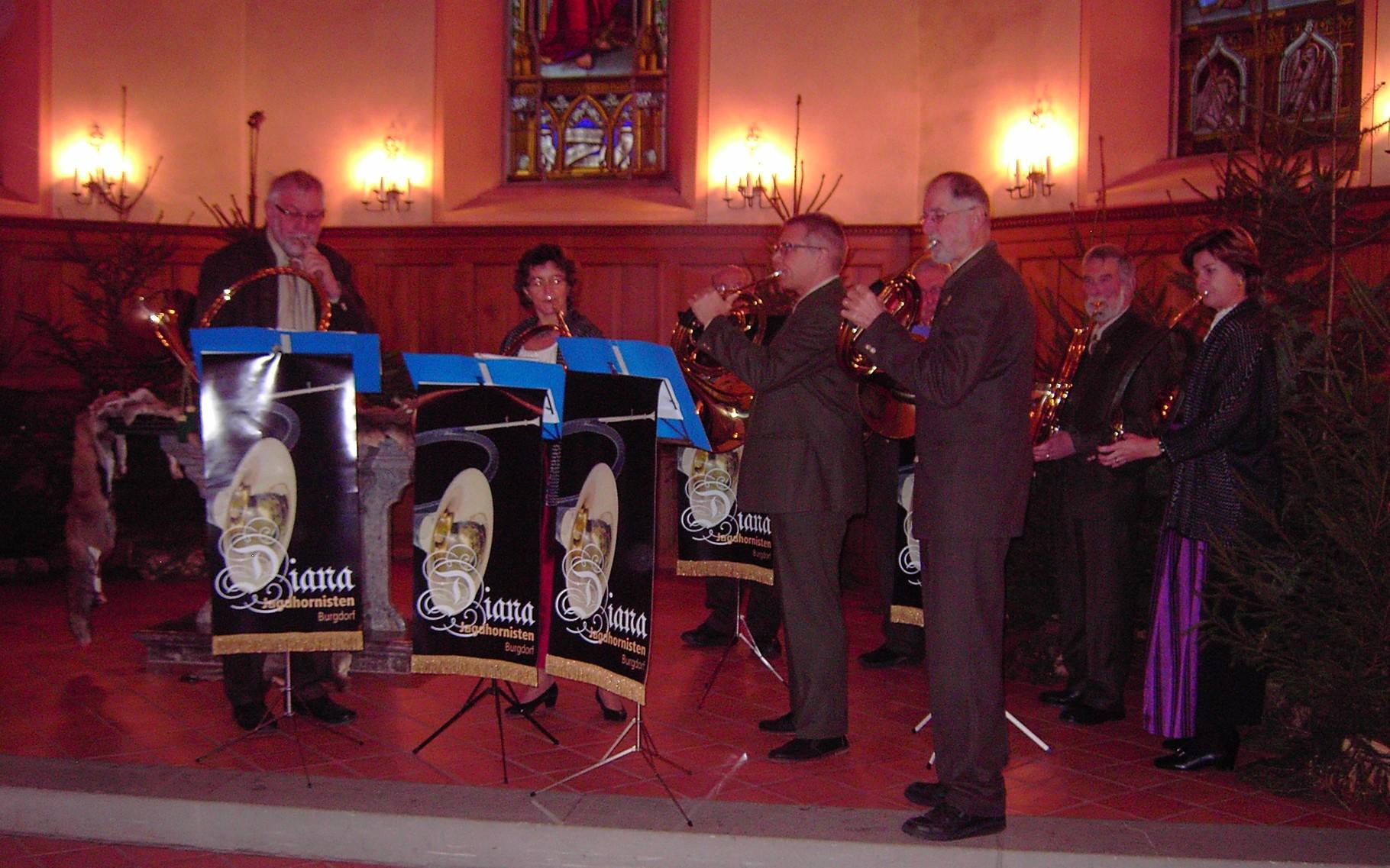 Hubertusmesse in Rapperswil BE 2015