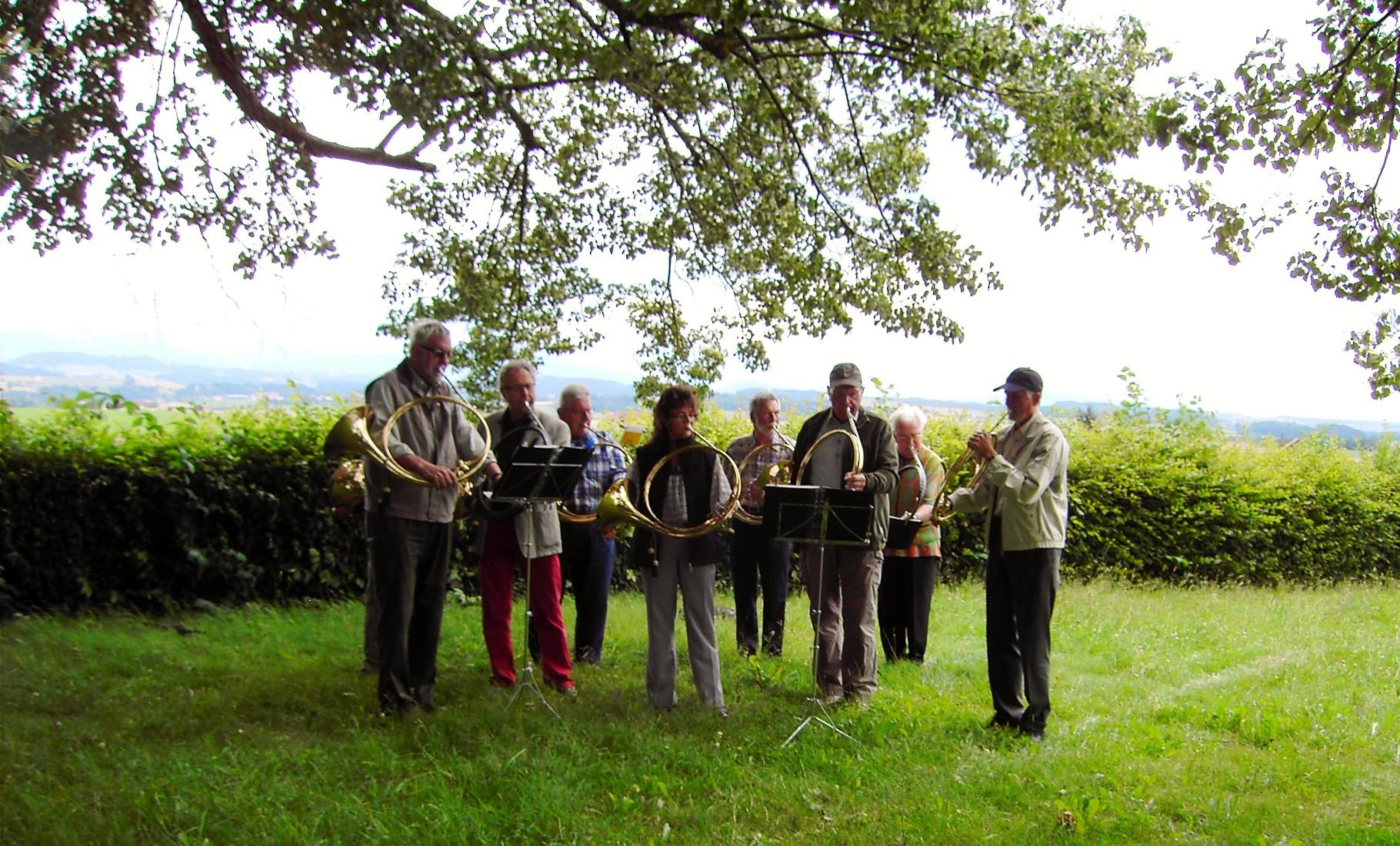 Geburtstagsfeier in Bramberg