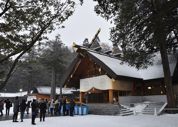 Hokkaido Shrine winter