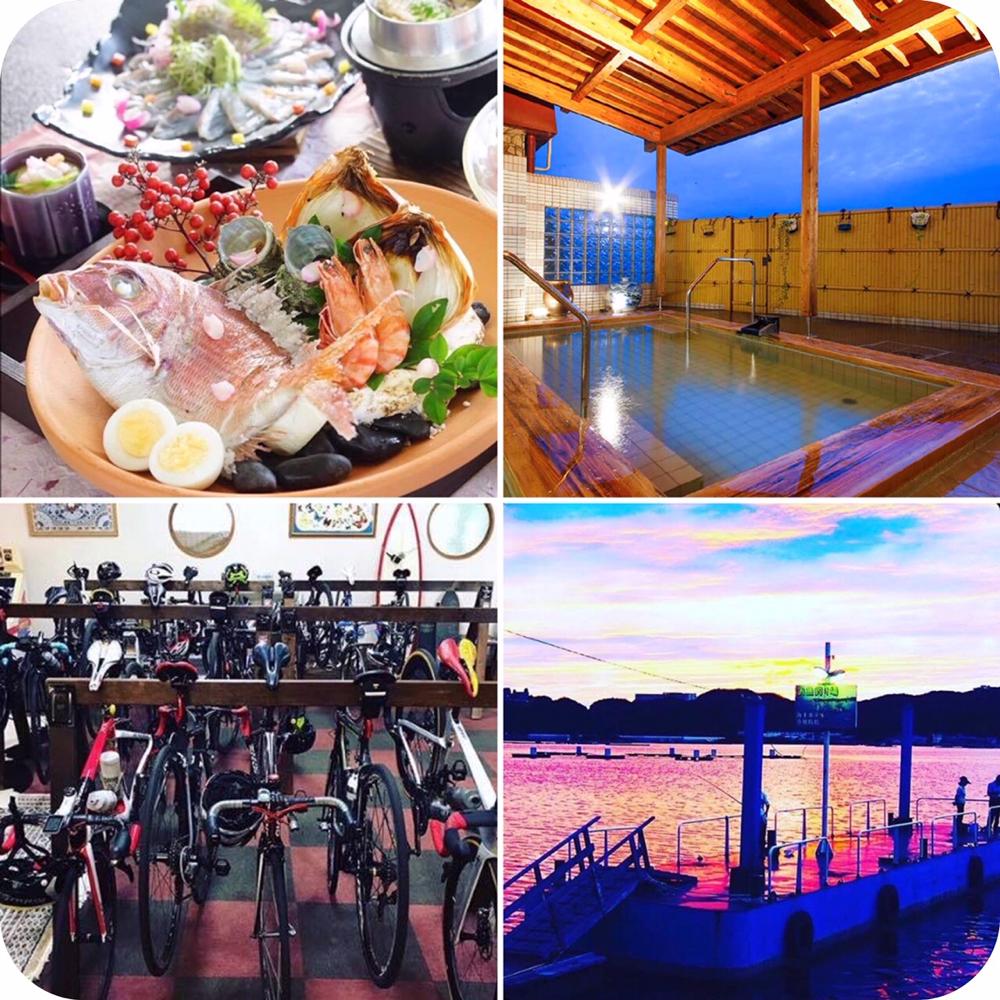 レンタサイクル 淡路島 海上ホテル