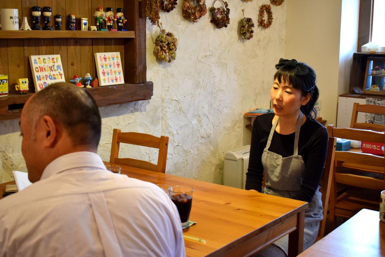 お菓子で留学経験があるんですか!? ―チマ・カフェ―
