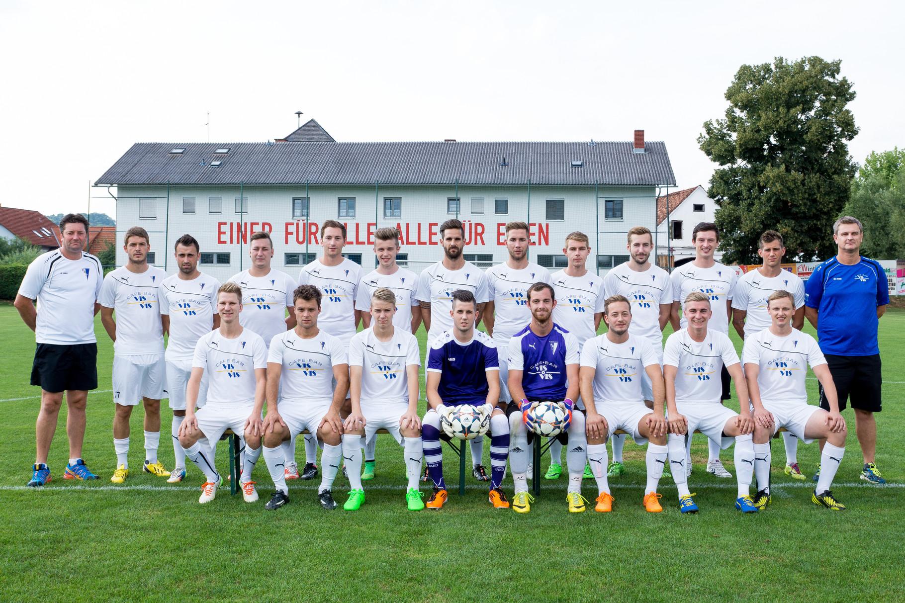 Mannschaftsfoto des SV Sinabelkirchen