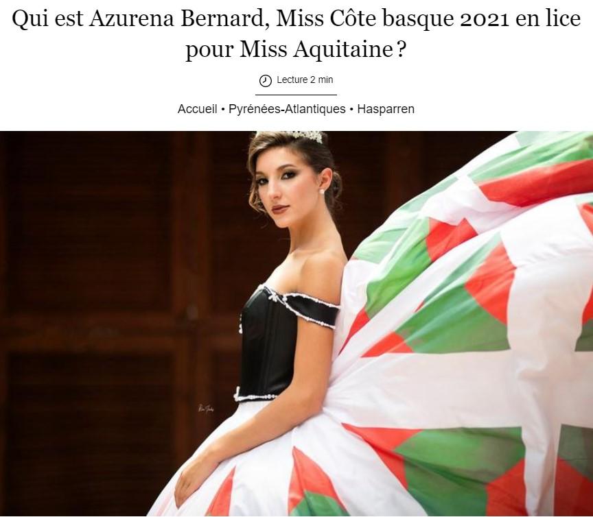 Miss Côte Basque 2021 dans le Sud-Ouest !