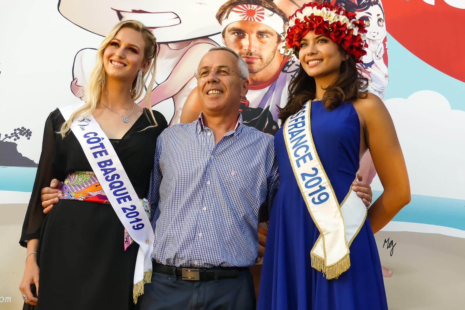 Une journée avec Miss France