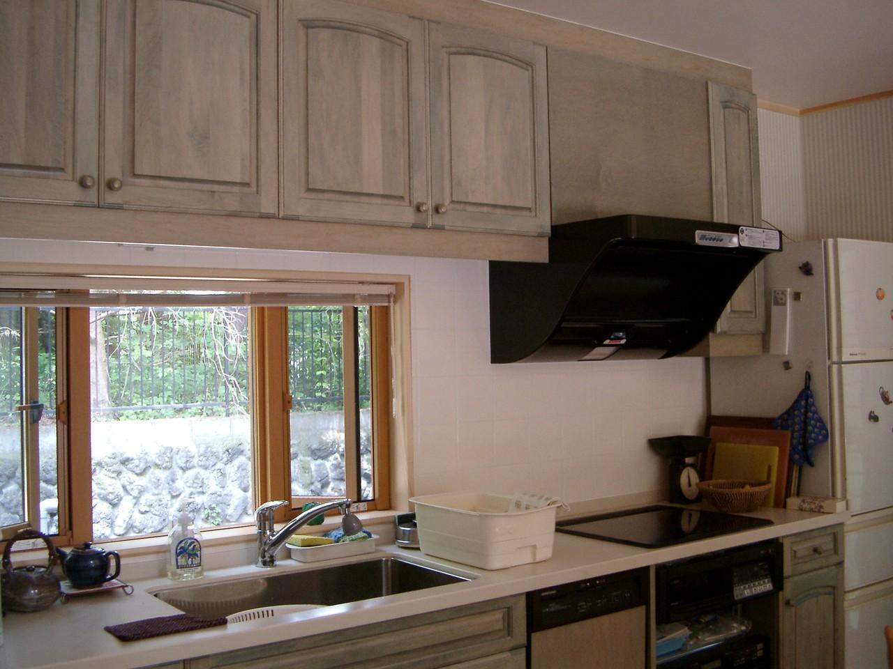 Mさんの家(軽井沢)キッチン 改装