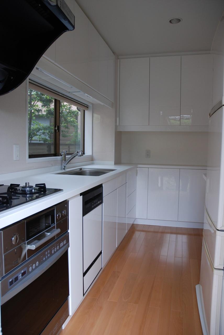 Hさんの家(世田谷区)キッチン1 改装
