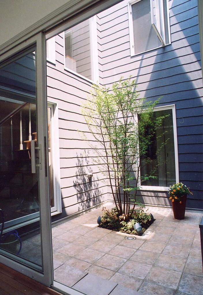 Kさんの家(柏市)中庭