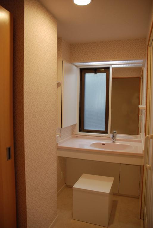 Hさんの家(世田谷区) 車椅子対応洗面所2