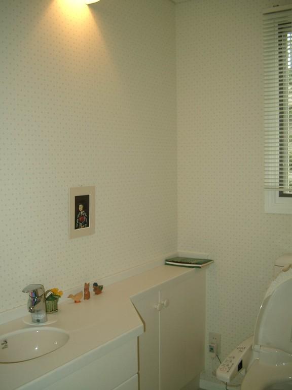 Hさんの家(市川市) トイレ