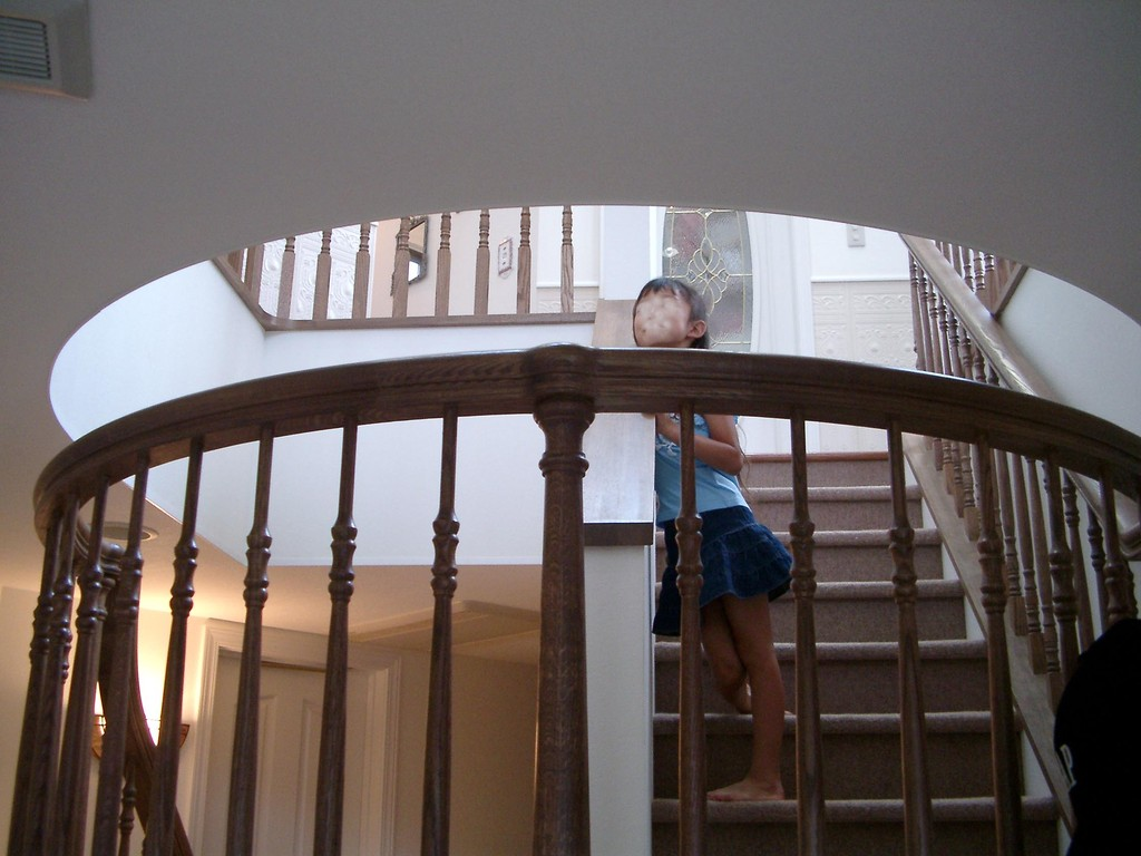 Kさんの家(杉並区) 階段3