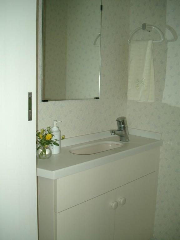 Hさんの家(市川市) トイレ内手洗い