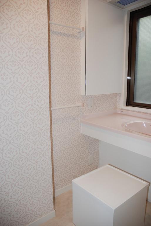 Hさんの家(世田谷区) 車椅子対応洗面所1