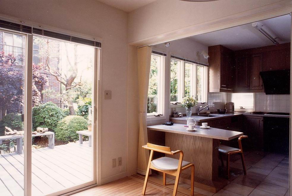 Tさんの家(世田谷区・祖師谷)キッチン1