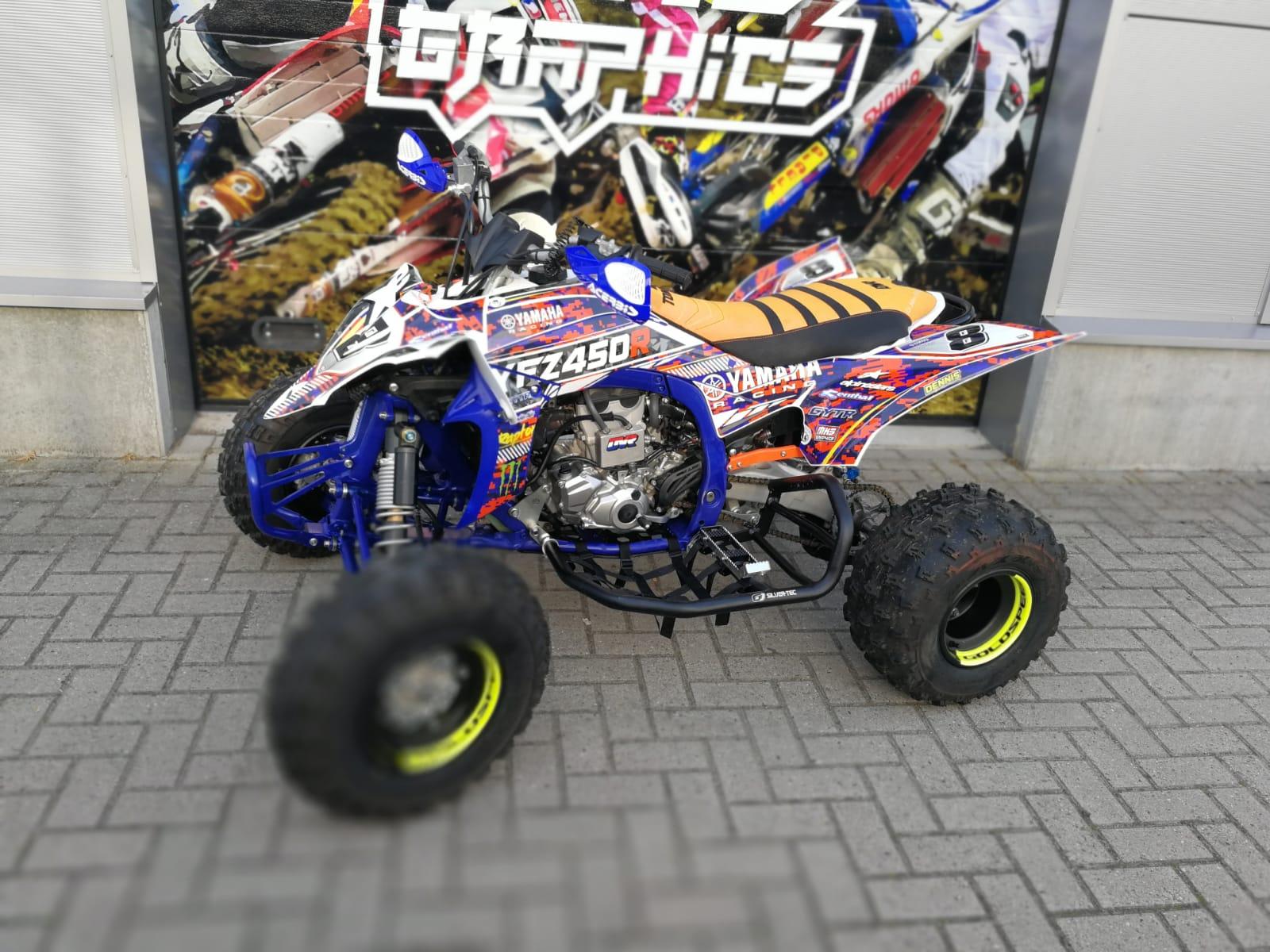 Yamaha 450 Atv >> Yamaha Raptor 450 Atv Quad 2014 2015 2016 2017 2018