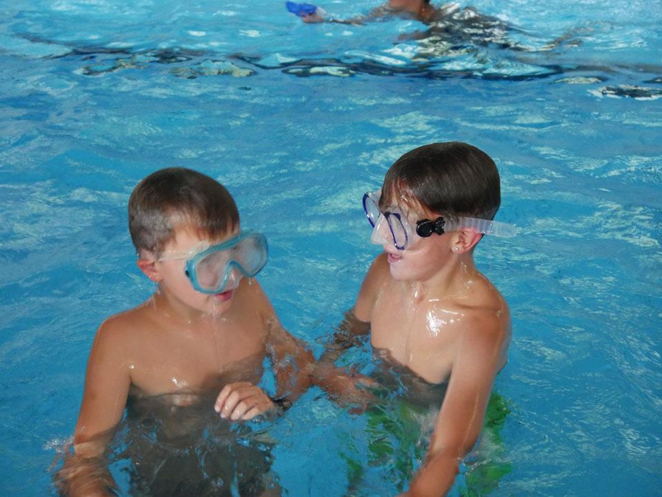Schwimmen die Zweite
