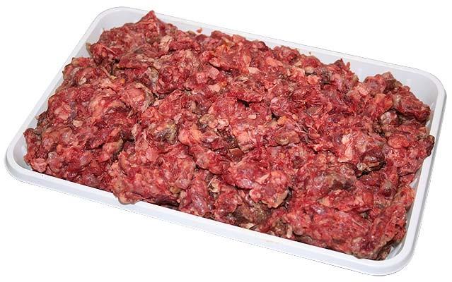 Carne tocată pentru câini