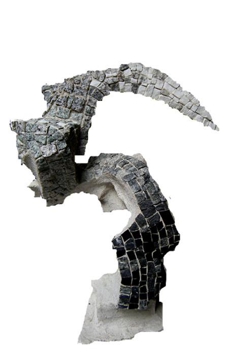Forme hauteur dégradé 60x52 2008   800€