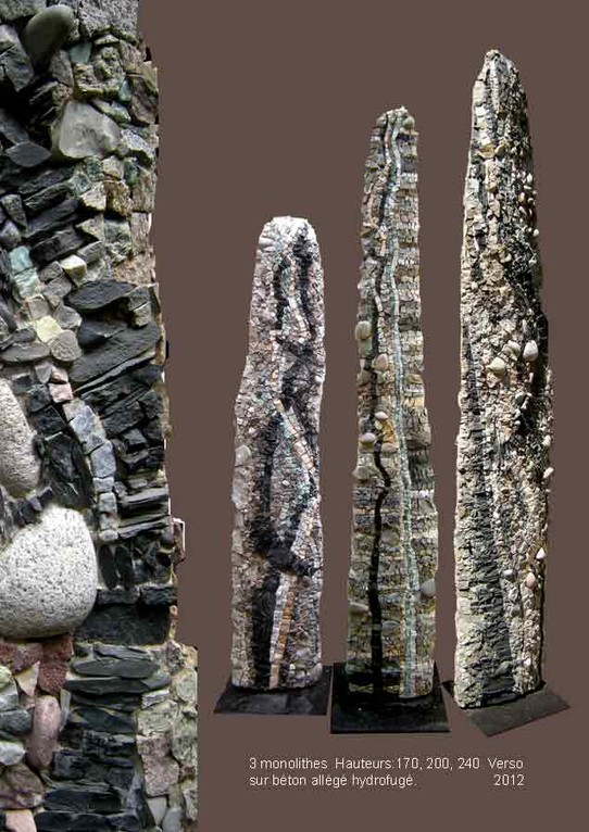 3 monolithes verso