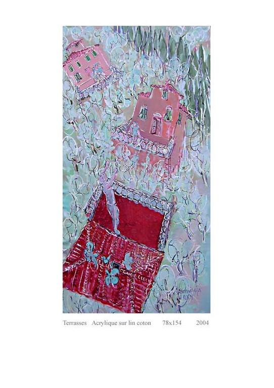 Terrasses 154 x 78  Acrylic 1800€