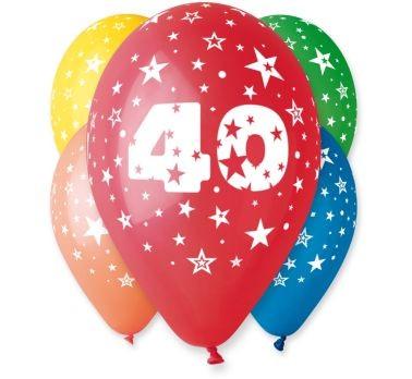 """balon """"40"""" 2 zł / szt lub 5 zł z helem"""