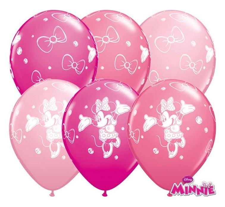 """Balon """"Myszka Minnie"""" 2 zł / szt lub 5 zł z helem"""
