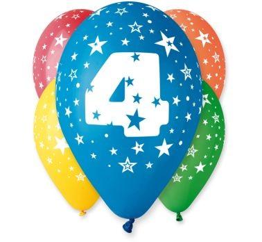 """balon """"4"""" 2 zł / szt lub 5 zł z helem"""