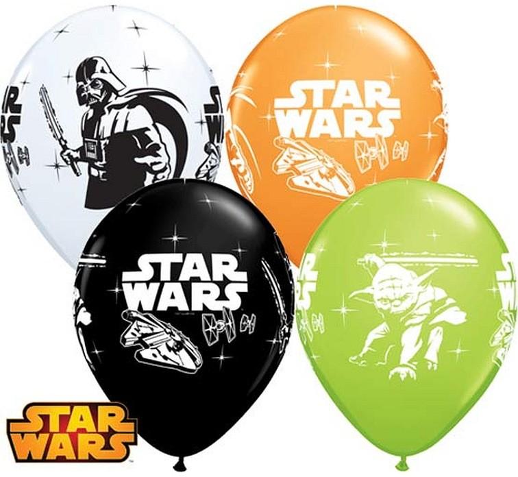 """Balon """"Star Wars"""" 2 zł / szt lub 5 zł z helem"""