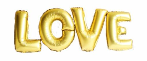 Balon napis LOVE