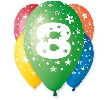 """balon """"8"""" 2 zł / szt lub 5 zł z helem"""