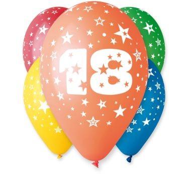 """balon """"18"""" 2 zł / szt lub 5 zł z helem"""