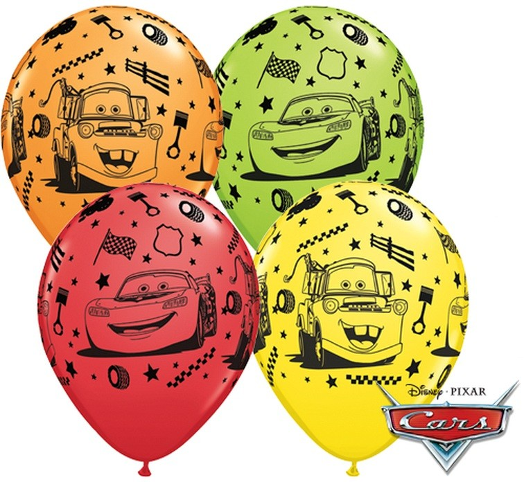 "Balon ""Cars"" 2 zł / szt lub 5 zł z helem"