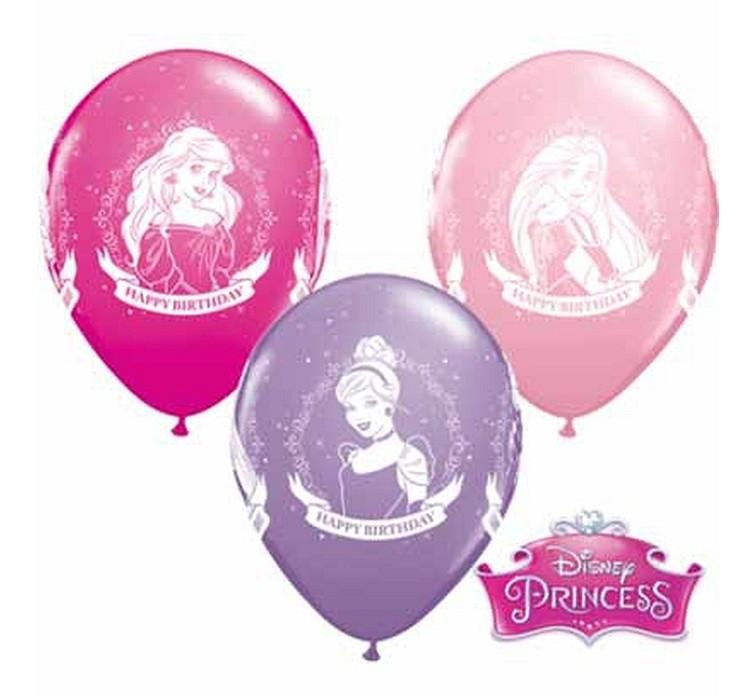 """Balon """"Disney Princes"""" 2 zł / szt lub 5 zł z helem"""
