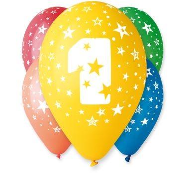 """balon """"1"""" 2 zł / szt lub 5 zł z helem"""