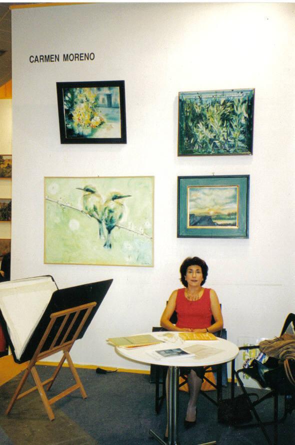 Feria Arte Independiente de Madrid. Shows Carmen Moreno, Exposiciones, Ferias