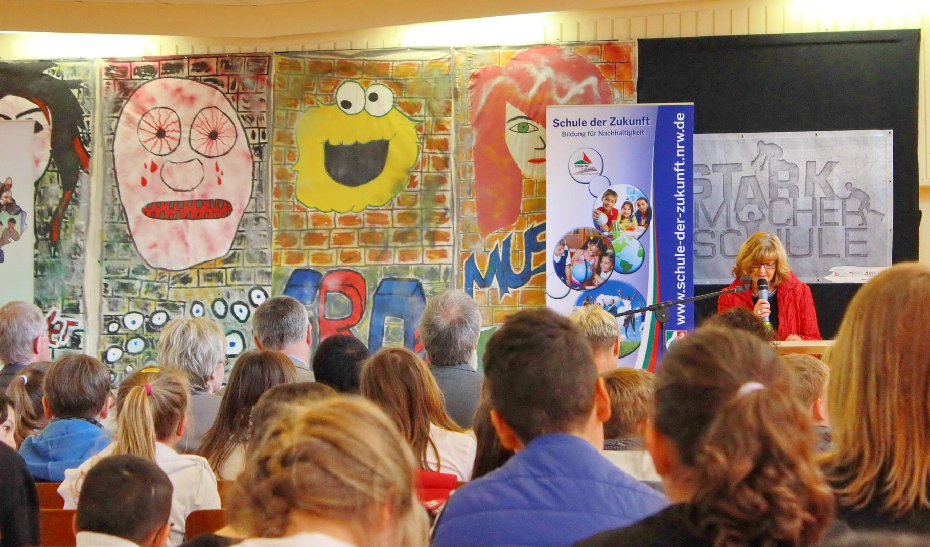 Gratulationsworte der Schulamtsdirektorin Martina Nolte