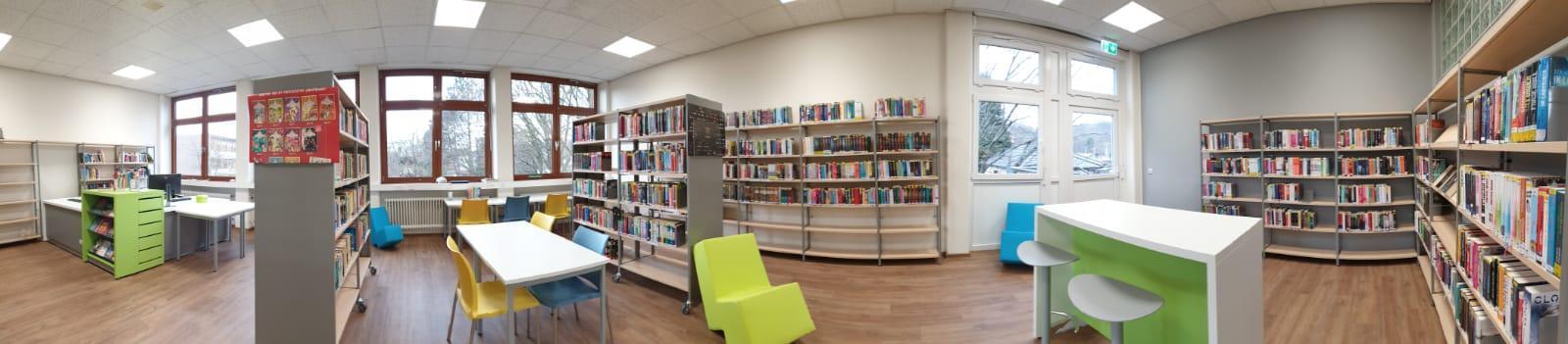 Die neue Schülerbücherei der Realschule Hüsten