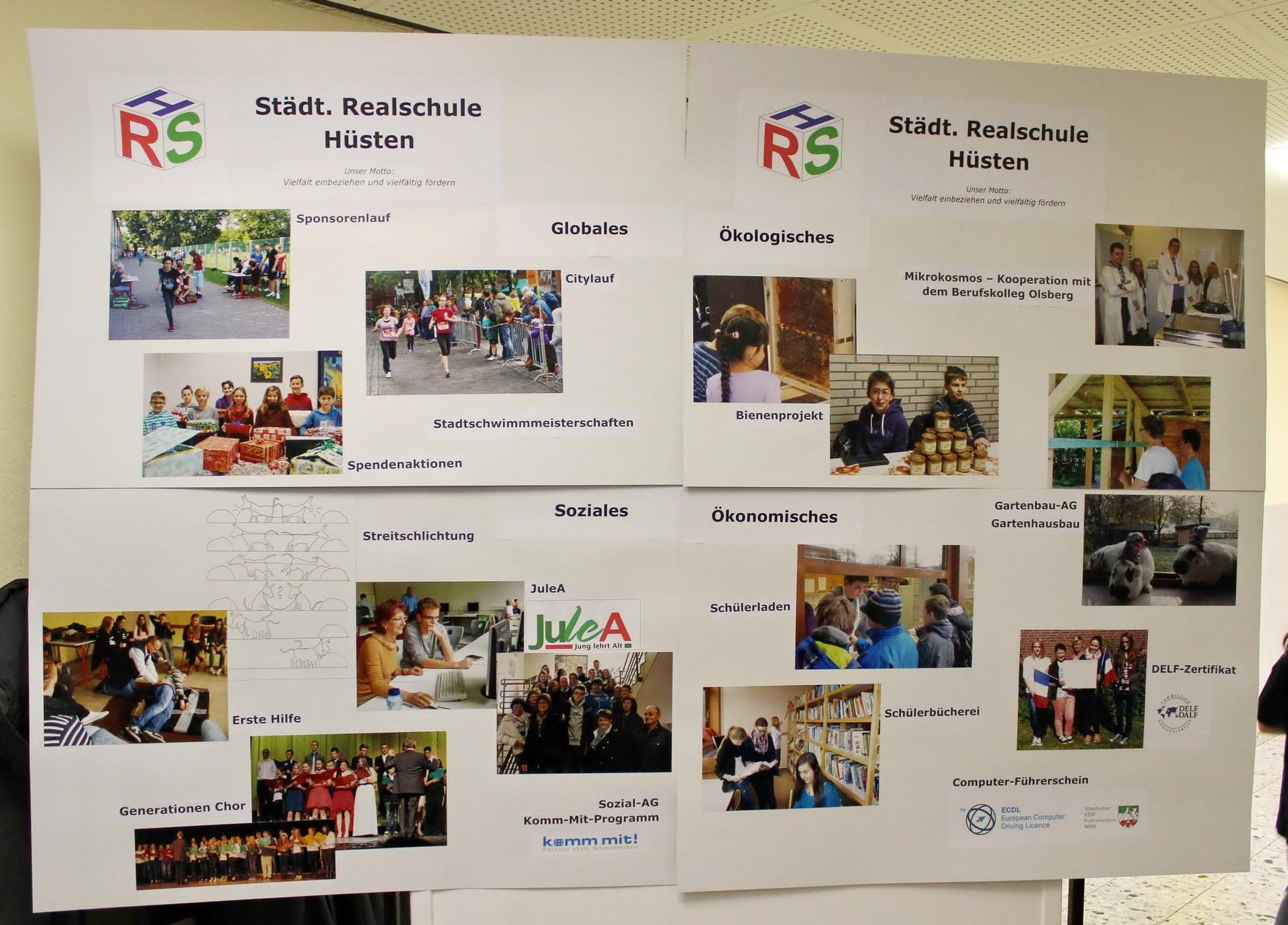 Infoplakat der RSH