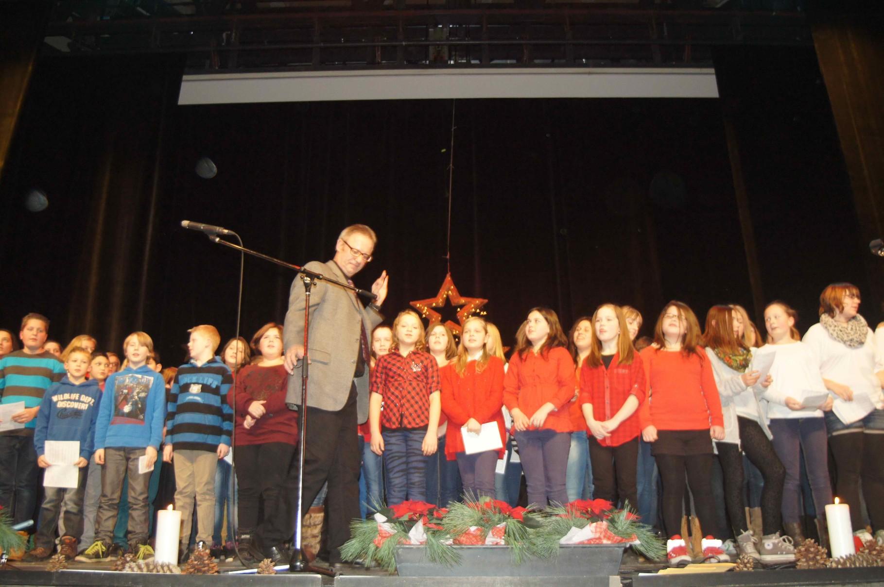 Auftritt bei der Weihnachtsfeier im Kulturzentrum