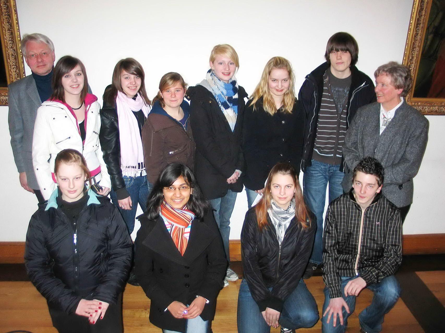 """Erste Vorstellung des Projekts """"JuleA"""" am 19. März 2008 (Osterferien) im alten Rathaus in Arnsberg (Foto: IS)"""
