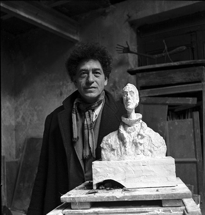 Alberto Giacometti ©Estate Michel Sima