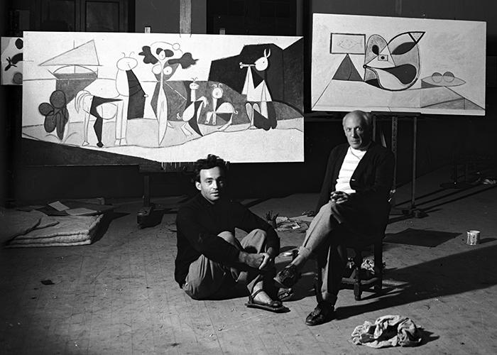 Michel Sima und Pablo Picasso ©Estate Michel Sima