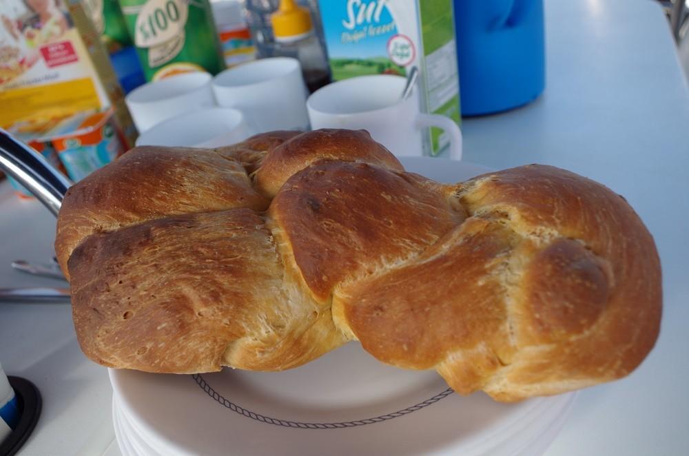 Frühstück selber gebacken