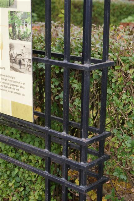 Westerton Garden Suburb sign detail