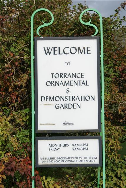 Torrance Garden Sign