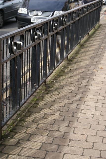 Bearsden Railings - Mhairi Auld