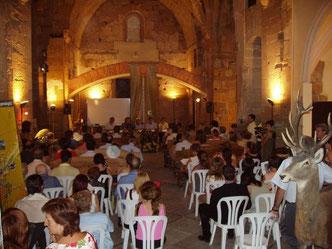 Inauguración en el monasterio de Avinganya (Seròs)