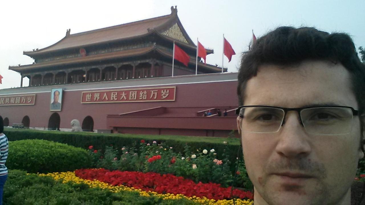 SAV d'une machine à Gangzhou (CHI), un journée à Beijing.