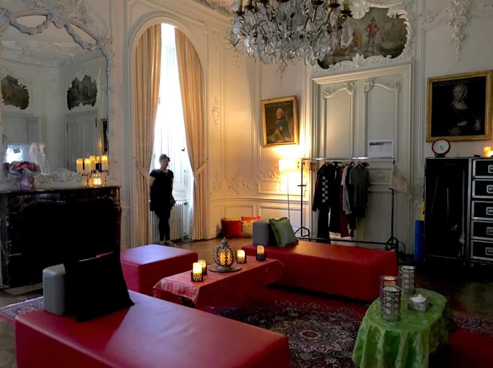Phyllis Toney installation loge Sting Château de Tilloloy @jon pitre